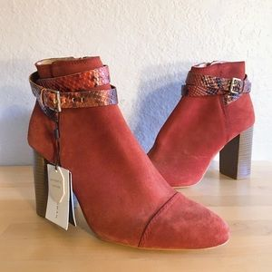 Zara Authentic Leather Ankle Boots